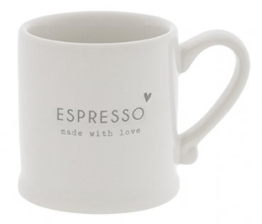 "Bastion Collections Espressotasse ""ESPRESSO made with love"""