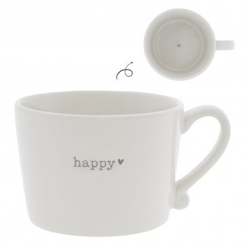 "Bastion Collections Tasse ""happy"" gross"