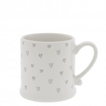 "Bastion Collections Tasse ""hearts overall"""