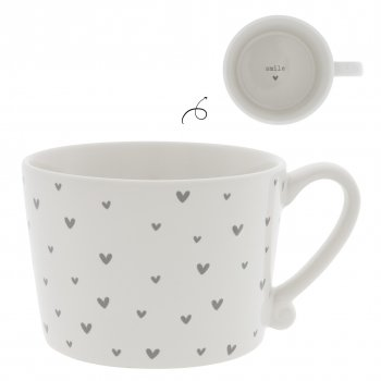 "Bastion Collections Tasse ""hearts"" gross"