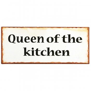 Ib Laursen Schild queen of the kitchen