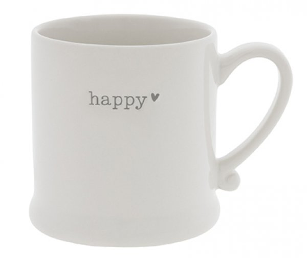 "Bastion Collections Tasse ""happy"""