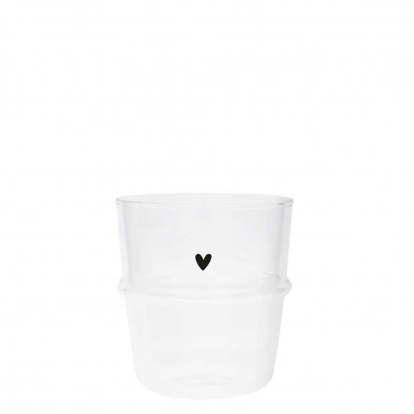 "Bastion Collections Wasserglas ""heart"""